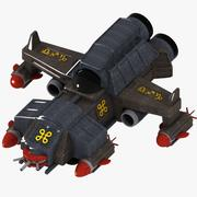 Space Fighter 1 3d model
