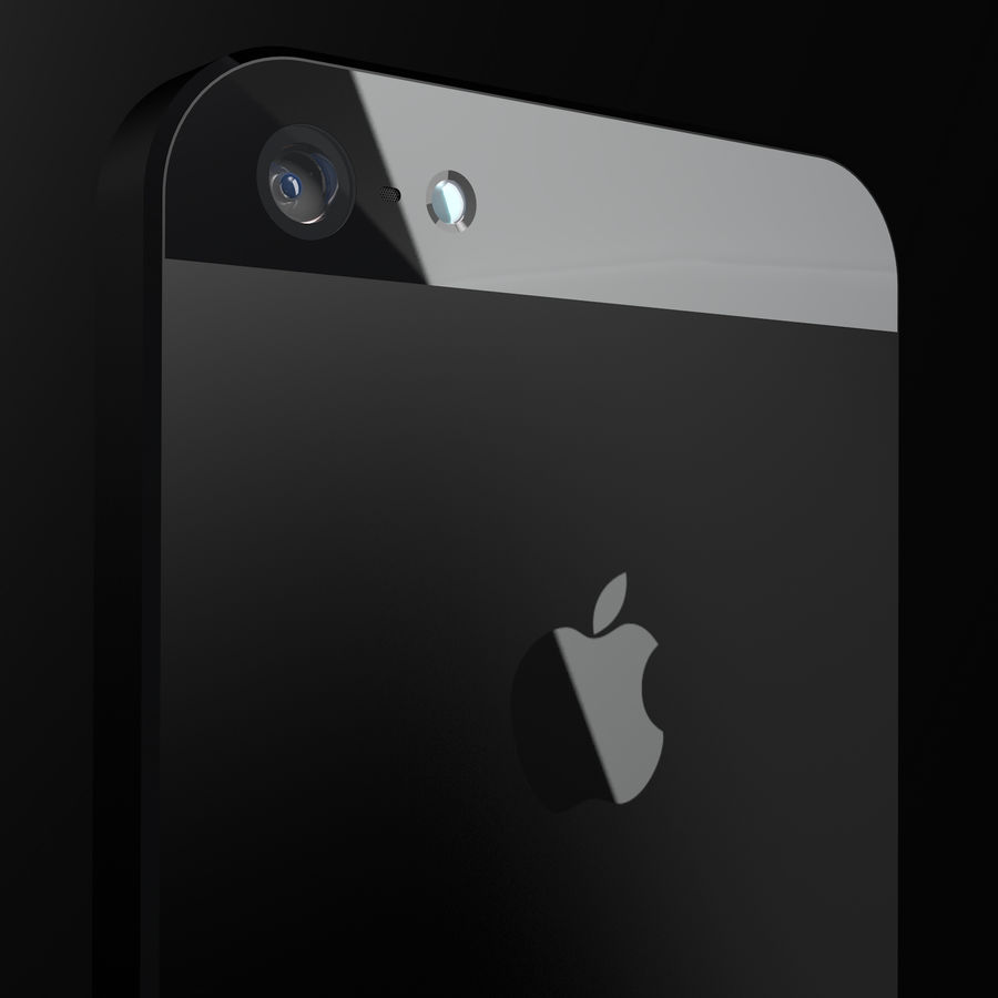 iPhone5_AR royalty-free 3d model - Preview no. 8