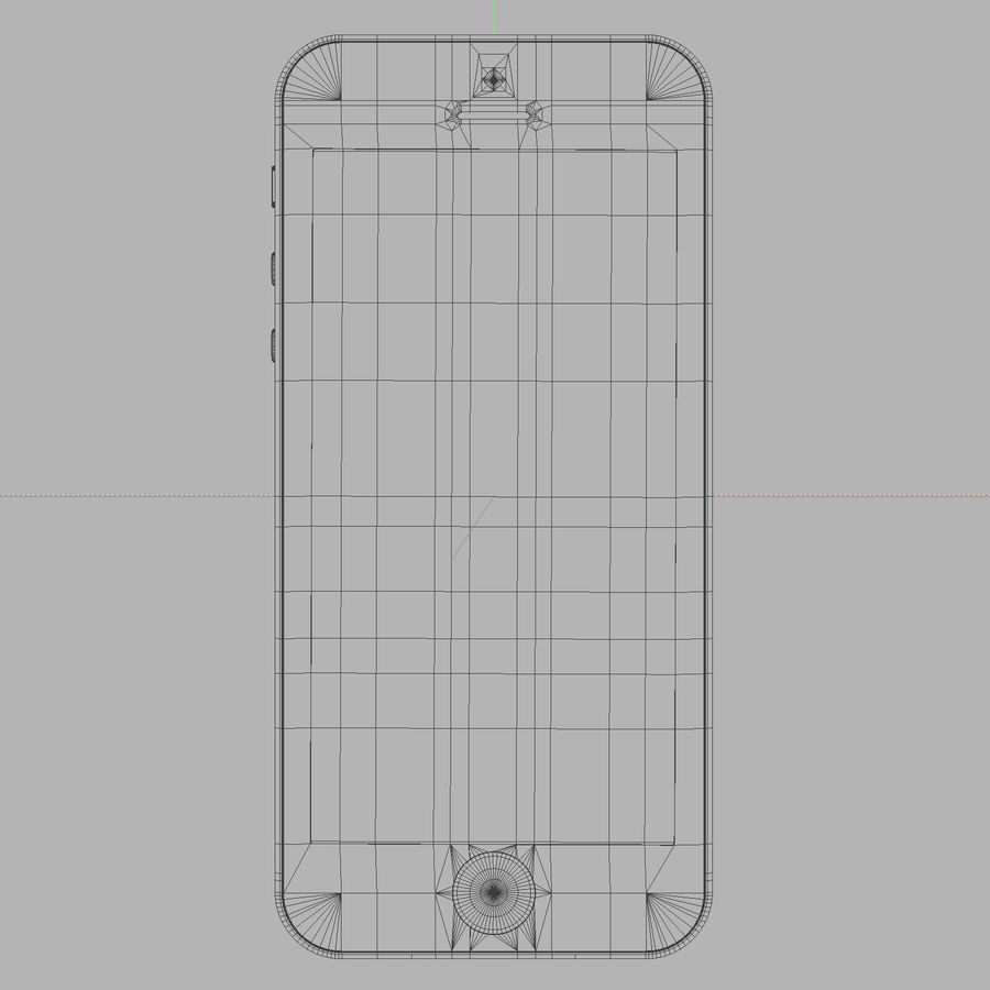 iPhone5_AR royalty-free 3d model - Preview no. 11