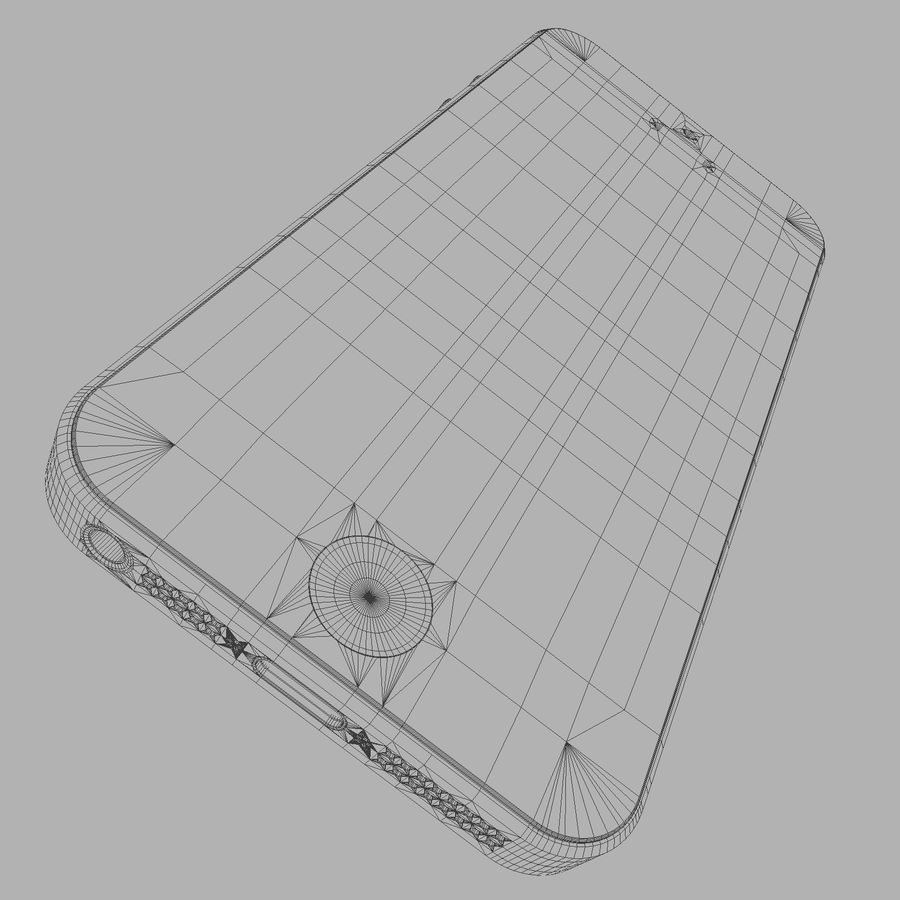 iPhone5_AR royalty-free 3d model - Preview no. 15