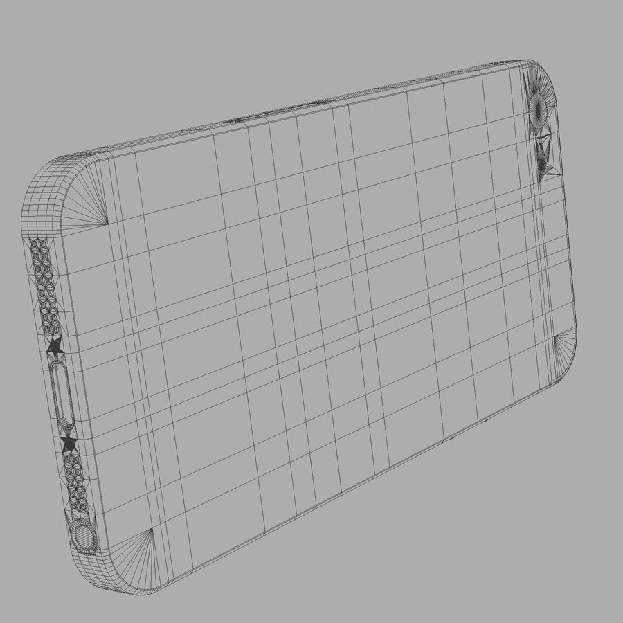 iPhone5_AR royalty-free 3d model - Preview no. 16