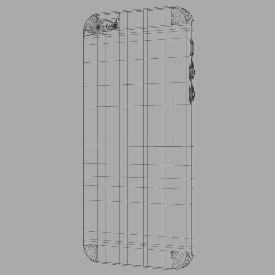 iPhone5_AR royalty-free 3d model - Preview no. 17