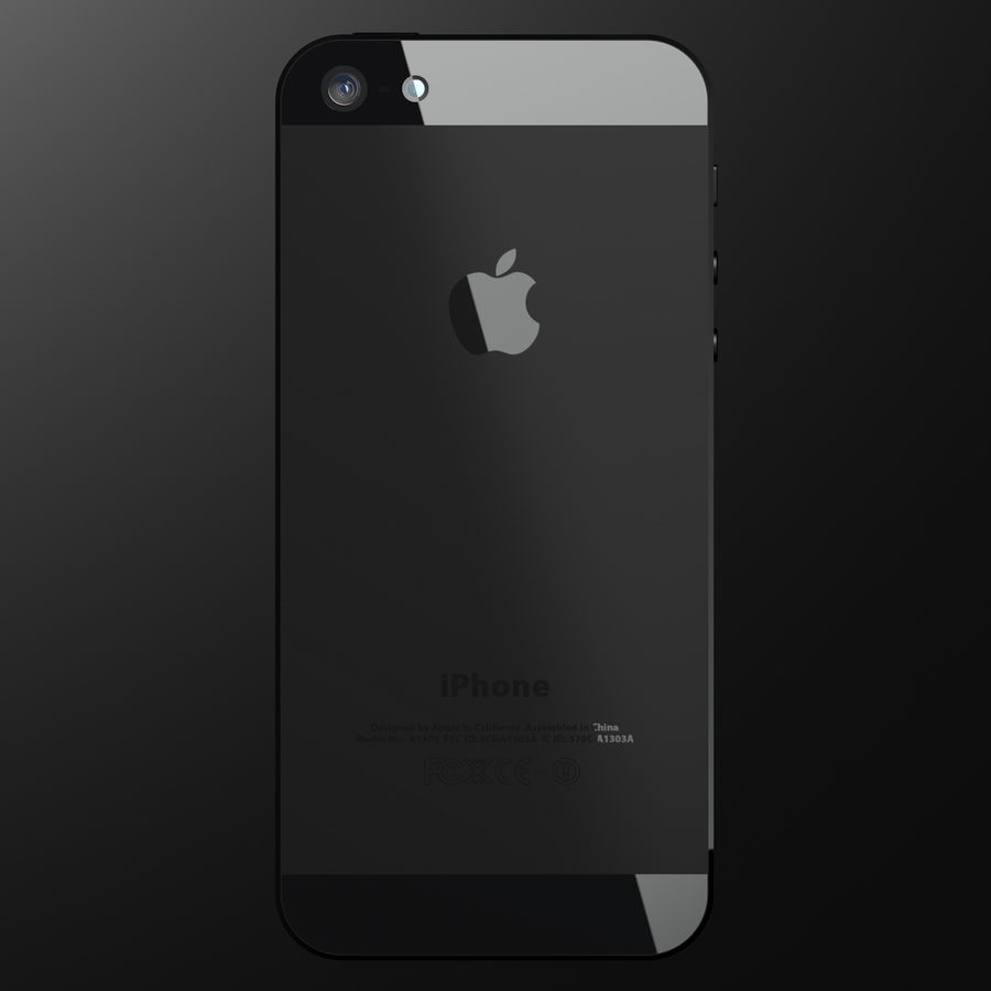 iPhone5_AR royalty-free 3d model - Preview no. 7