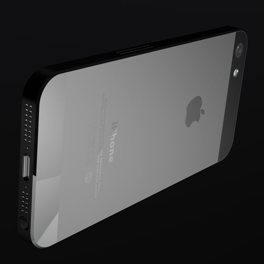 iPhone5_AR royalty-free 3d model - Preview no. 10