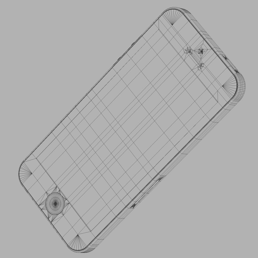 iPhone5_AR royalty-free 3d model - Preview no. 14