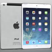 Apple iPad Air&Mini 2 Wi-Fi + Cellular White 3d model