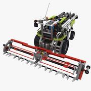 Lego Combine Harvester 3d model