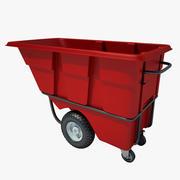 Plastic Tilt Truck 02 3d model