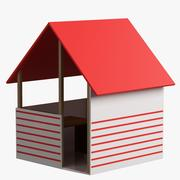 Toy House 005 3d model