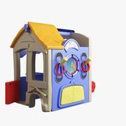 Maison de jouets 008 3d model
