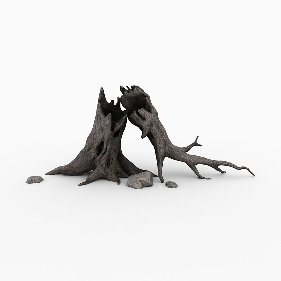 Dead tree royalty-free 3d model - Preview no. 1
