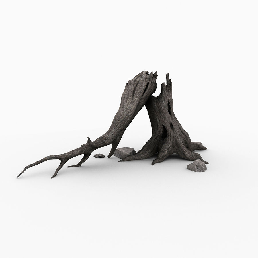 Dead tree royalty-free 3d model - Preview no. 5