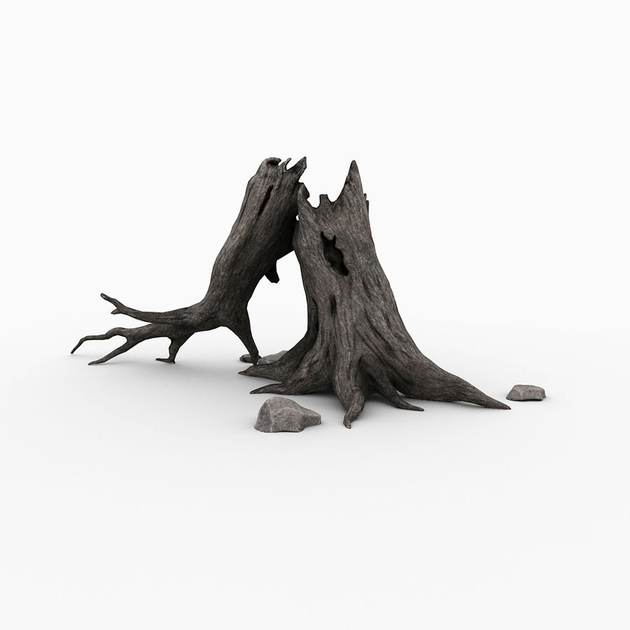 Dead tree royalty-free 3d model - Preview no. 6