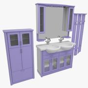 浴室家具74 3d model