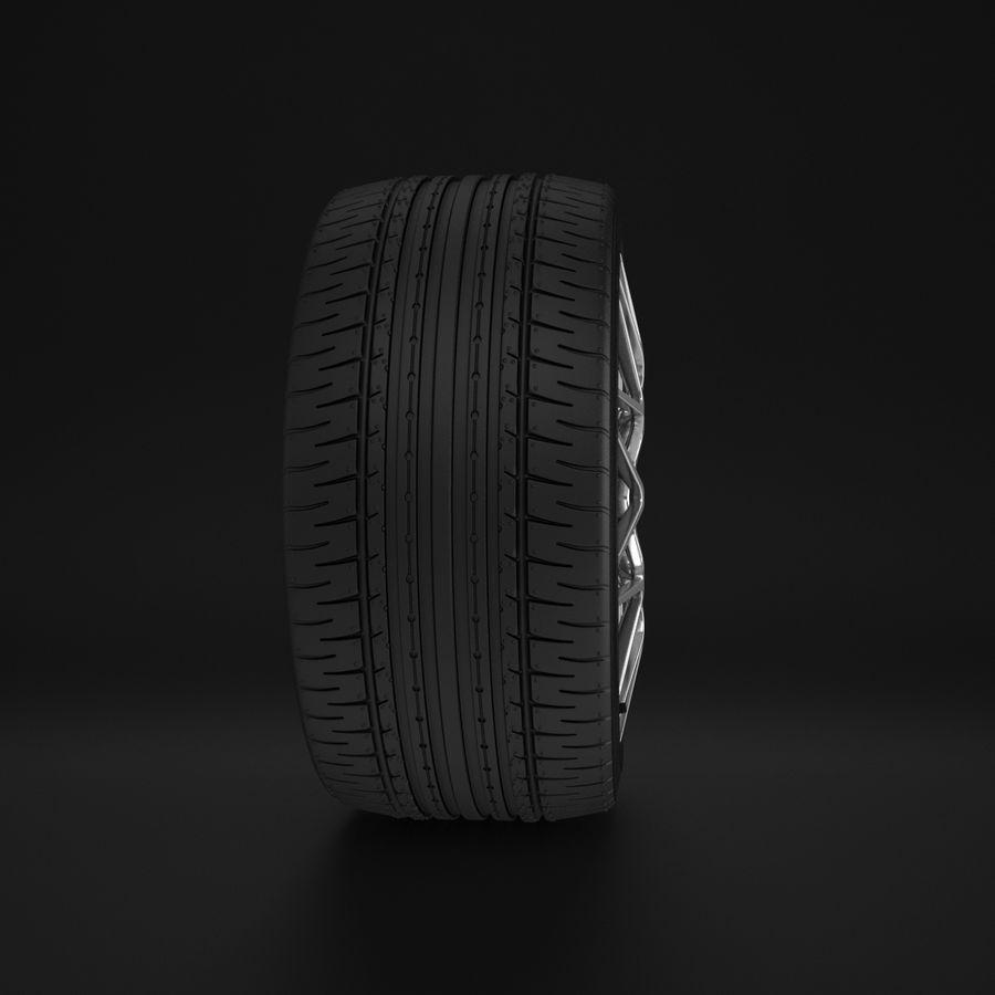 Cerchio Sportscar 01 royalty-free 3d model - Preview no. 9