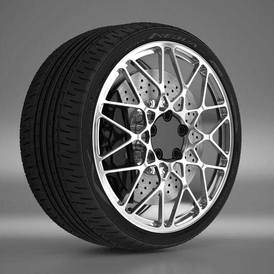 Cerchio Sportscar 01 royalty-free 3d model - Preview no. 1