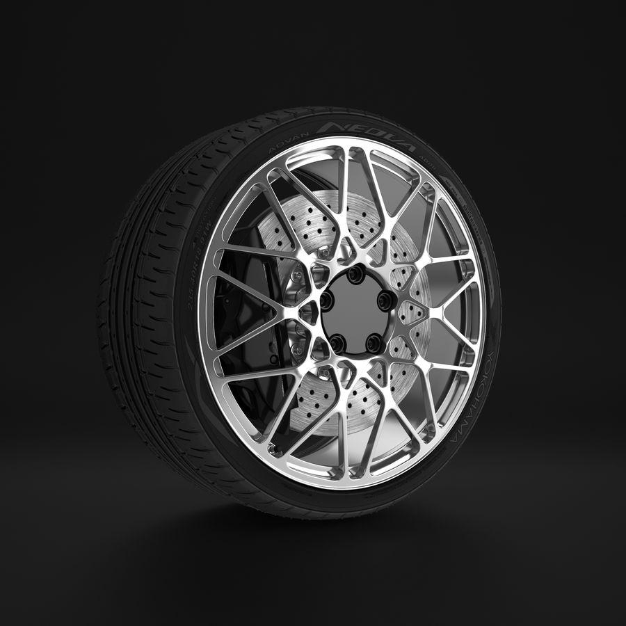 Cerchio Sportscar 01 royalty-free 3d model - Preview no. 6