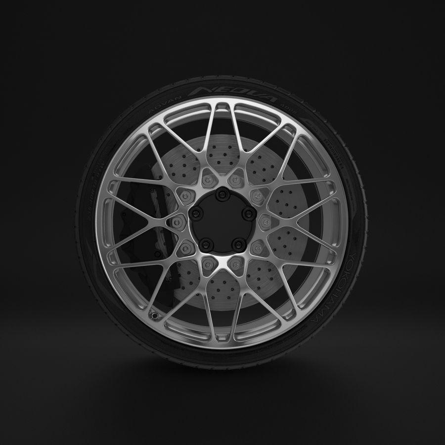 Cerchio Sportscar 01 royalty-free 3d model - Preview no. 7
