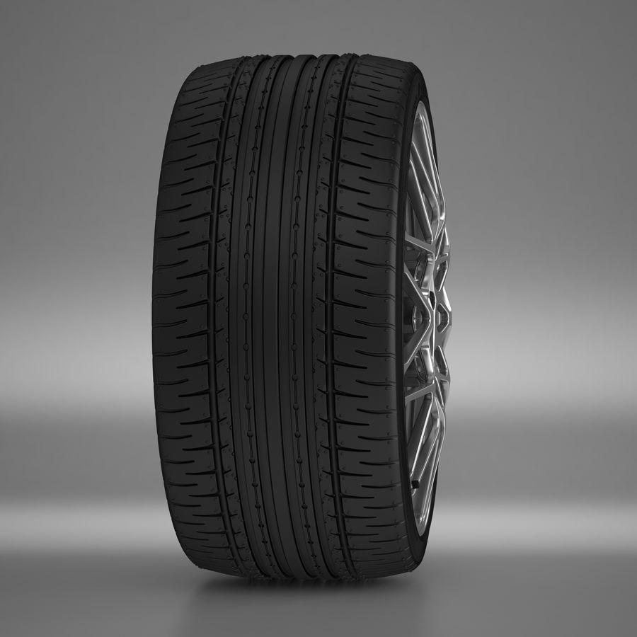 Cerchio Sportscar 01 royalty-free 3d model - Preview no. 11