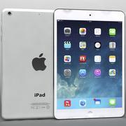 Apple iPad Air & Mini 2 White 3d model