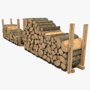Yakacak odun 2 3d model