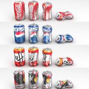 Soda Cans 3d model