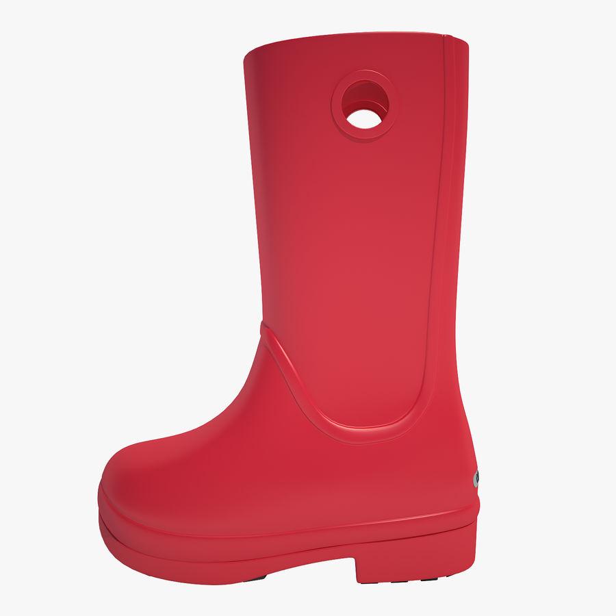 Crocs Rain Boot 01 royalty-free 3d model - Preview no. 1