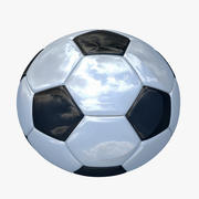 Piłka nożna 3d model