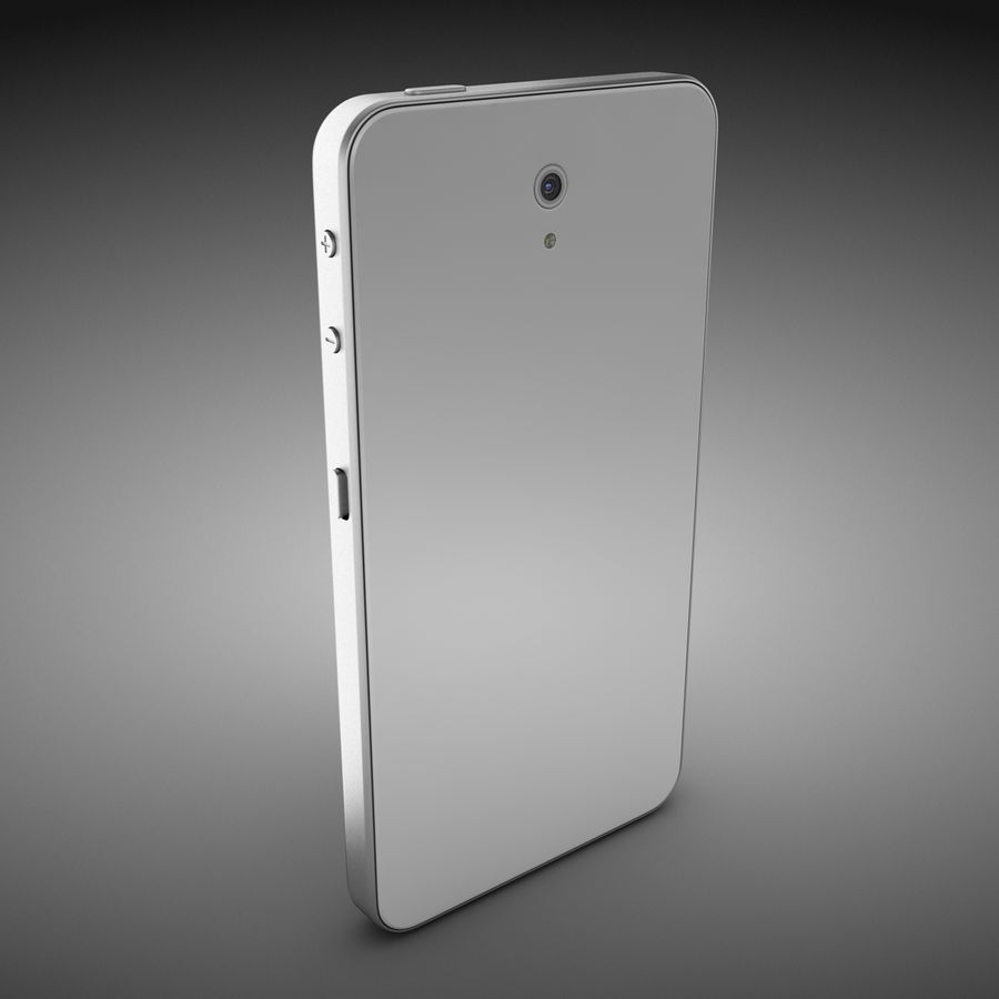 Smart Phone royalty-free 3d model - Preview no. 6
