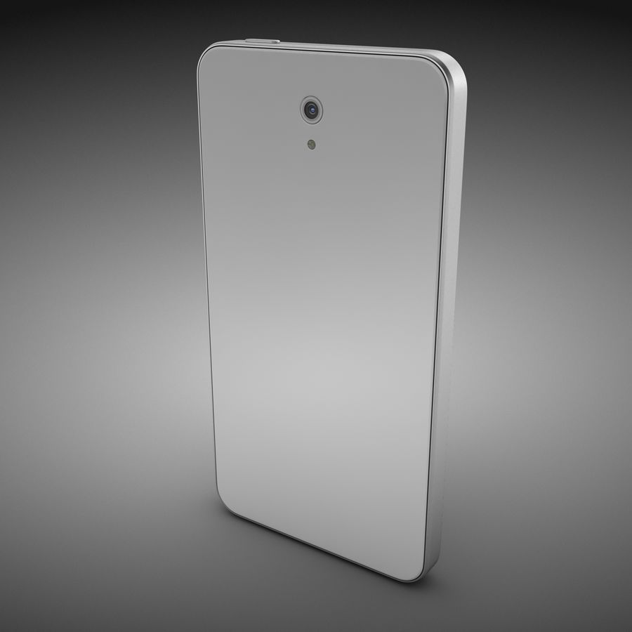 Smart Phone royalty-free 3d model - Preview no. 5