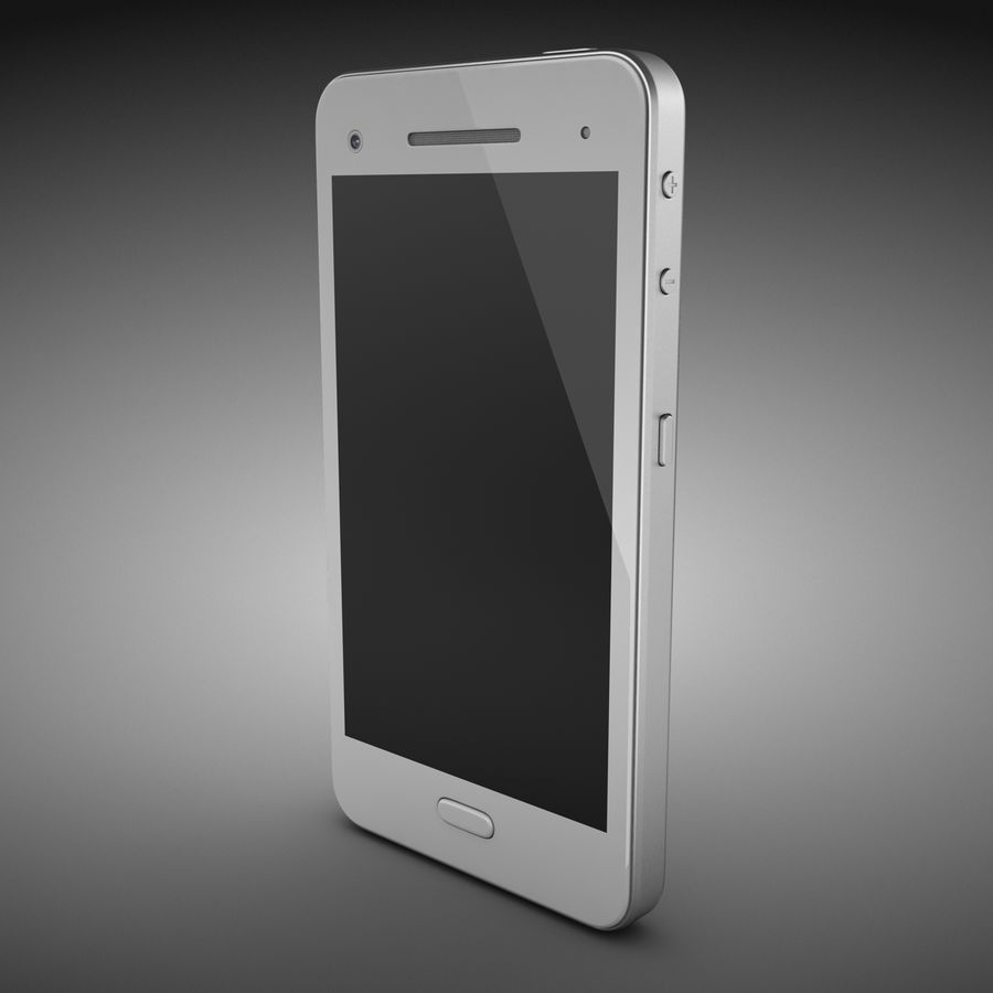 Smart Phone royalty-free 3d model - Preview no. 3