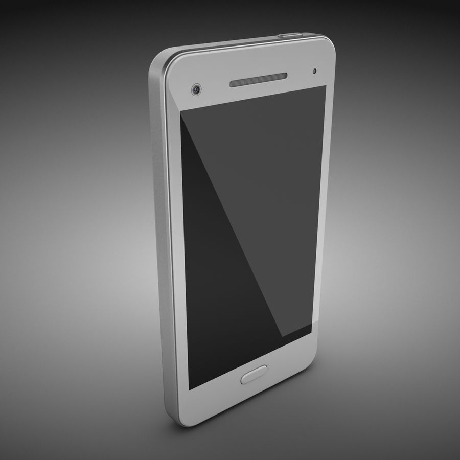 Smart Phone royalty-free 3d model - Preview no. 4