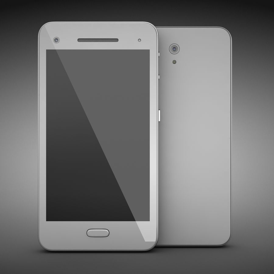 Smart Phone royalty-free 3d model - Preview no. 2