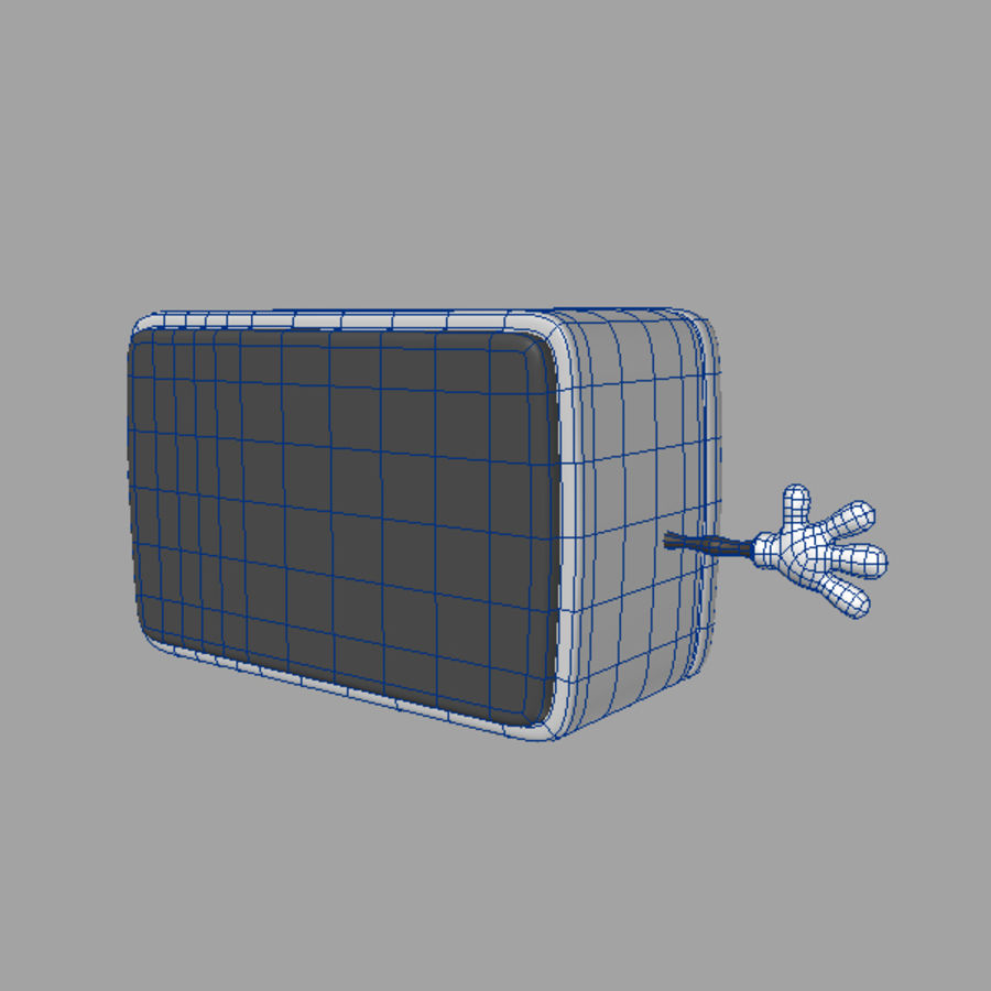 Cartoon microwave 3D Model $39 - .max .lwo .obj - Free3D