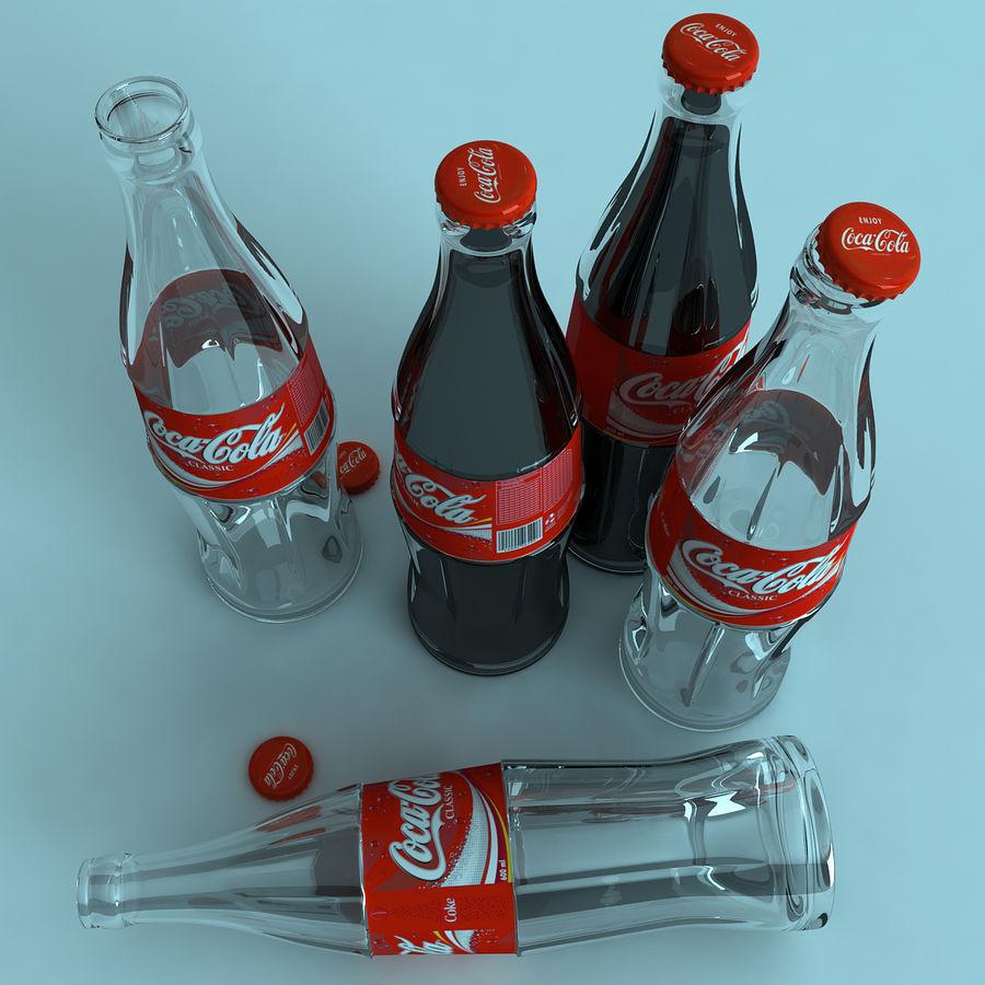 Бутылка кока-колы royalty-free 3d model - Preview no. 6