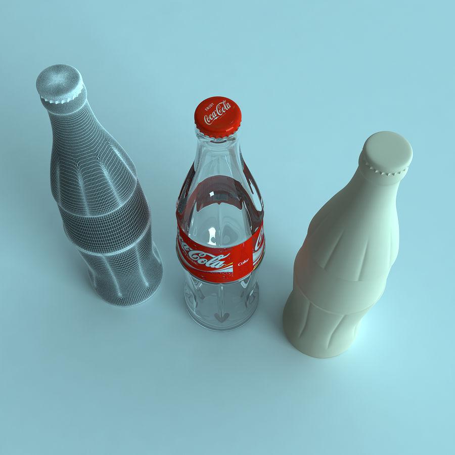 Бутылка кока-колы royalty-free 3d model - Preview no. 3
