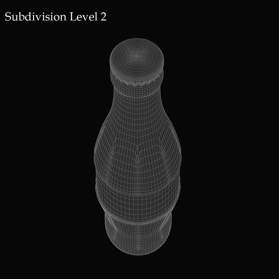Бутылка кока-колы royalty-free 3d model - Preview no. 9