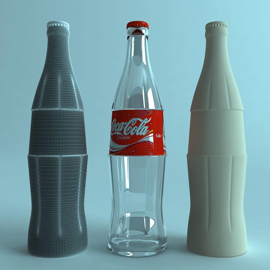 Бутылка кока-колы royalty-free 3d model - Preview no. 4