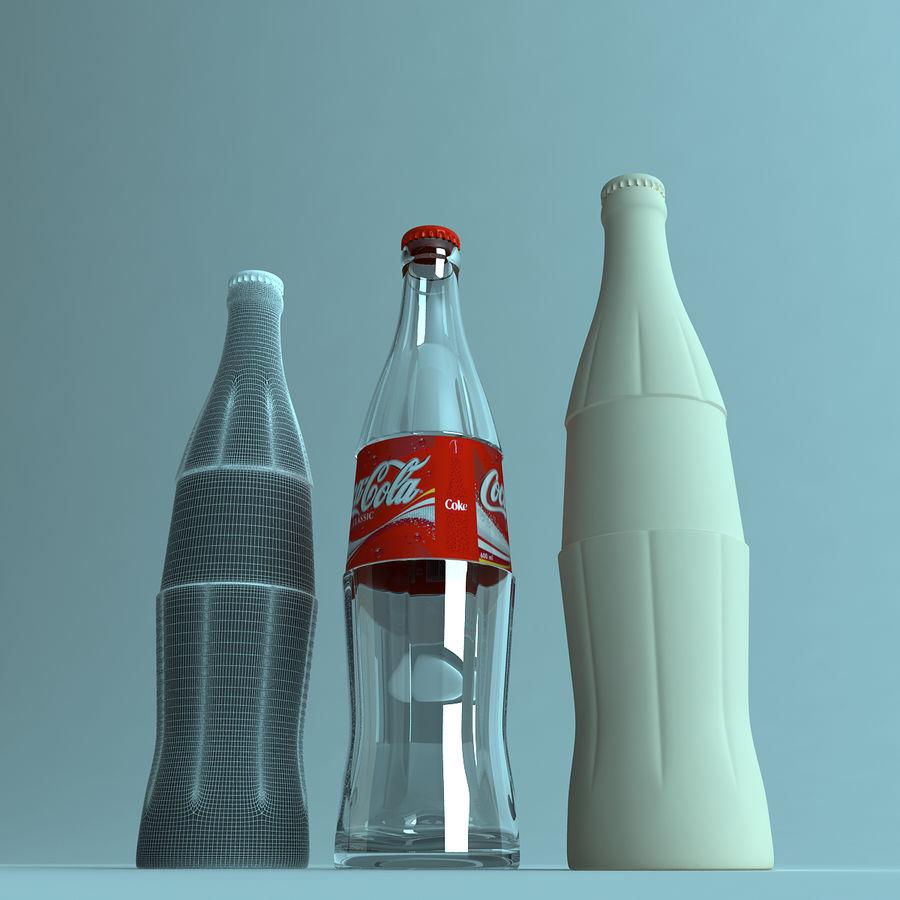 Бутылка кока-колы royalty-free 3d model - Preview no. 5