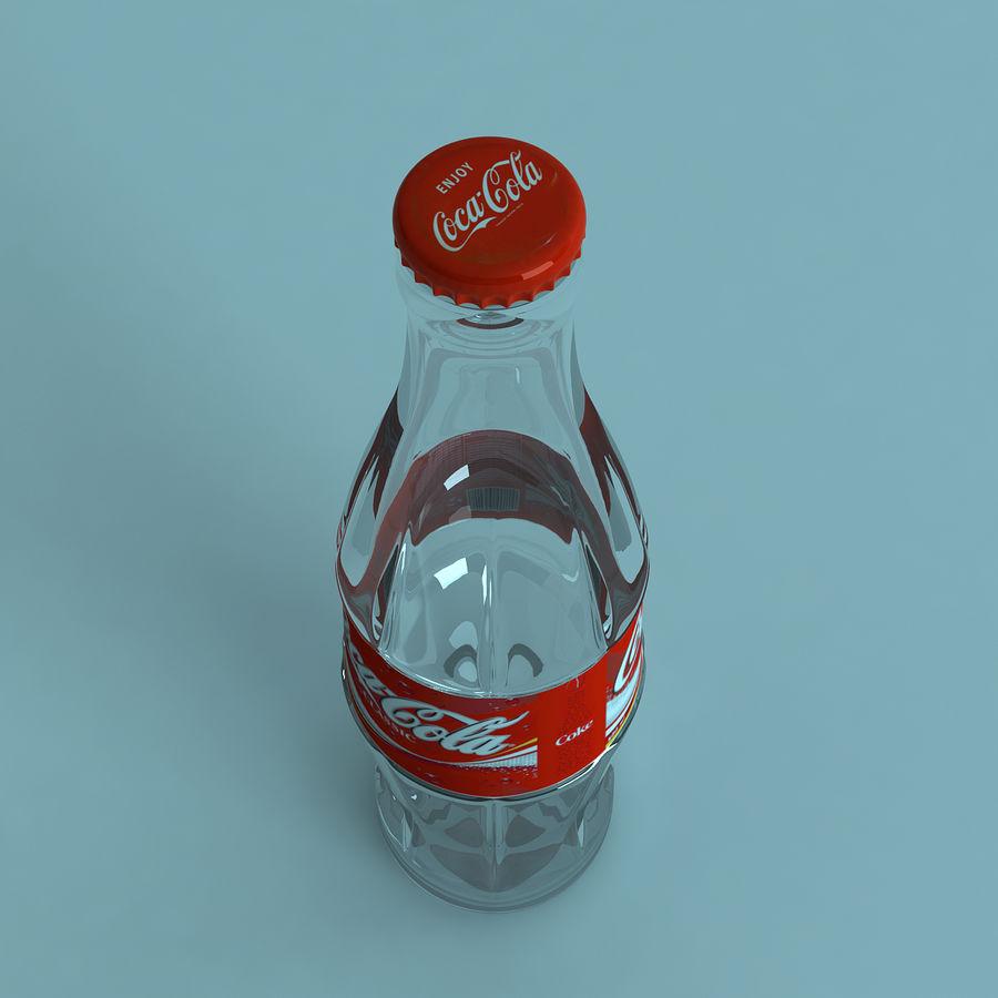 Бутылка кока-колы royalty-free 3d model - Preview no. 2