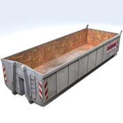 Contenedor de Residuos 3 modelo 3d