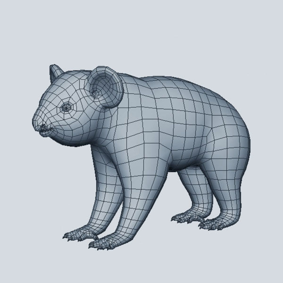 Koala royalty-free 3d model - Preview no. 7