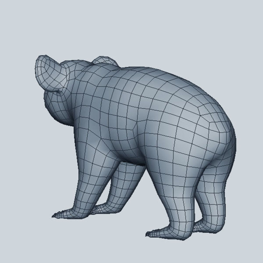 Koala royalty-free 3d model - Preview no. 8