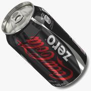 Coke Zero 3d model