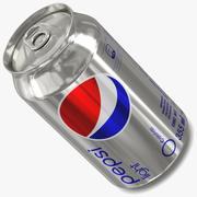 Pepsi Light 3d model