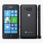 Huawei Ascend W2 Czarny 3d model