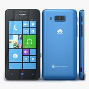 Huawei Ascend W2 Blue 3d model