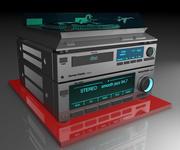 Müzik seti 3d model