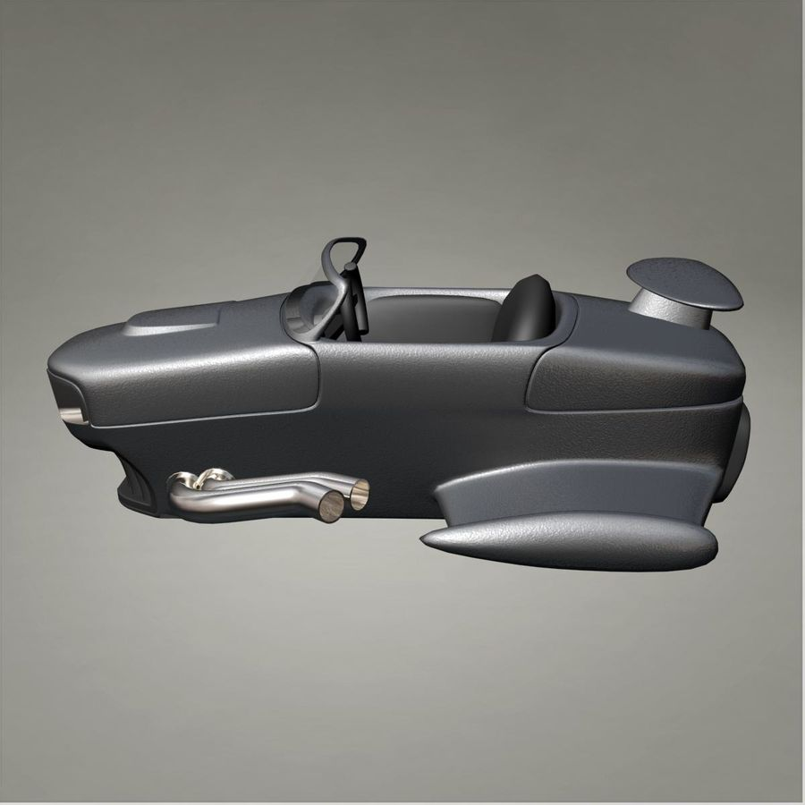 Aircraft royalty-free 3d model - Preview no. 4