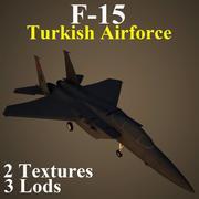 F15 TAF 3d model